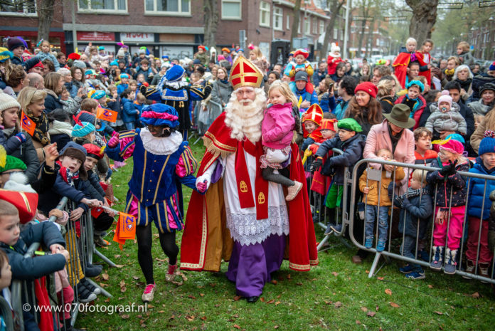 Sinterklaas komt naar Benoordenhout