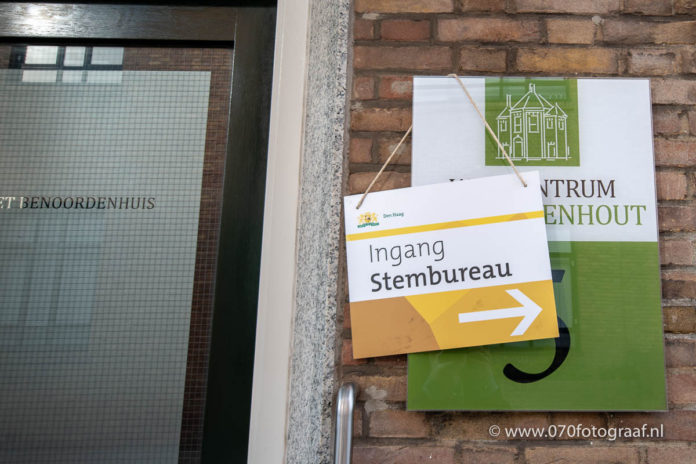 Stembureau in Wijkcentrum Benoordenhout