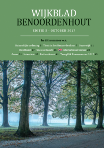 Wijkblad Benoordenhout 2017 nummer 5