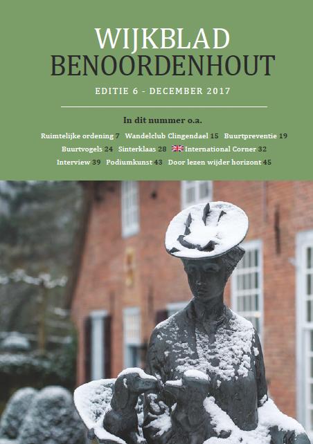 Wijkblad Benoordenhout 2019 nummer 4
