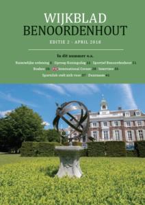 Wijkblad Benoordenhout 2018 nummer 2