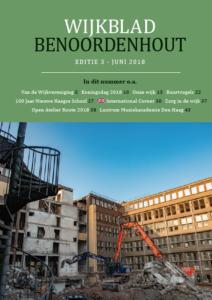 Wijkblad Benoordenhout 2018 nummer 5