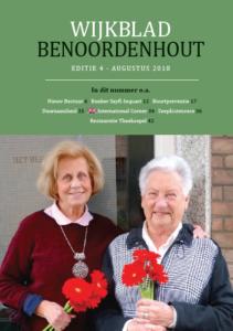 Wijkblad Benoordenhout 2018 nummer 4