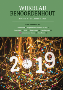 Wijkblad Benoordenhout 2018 nummer 6