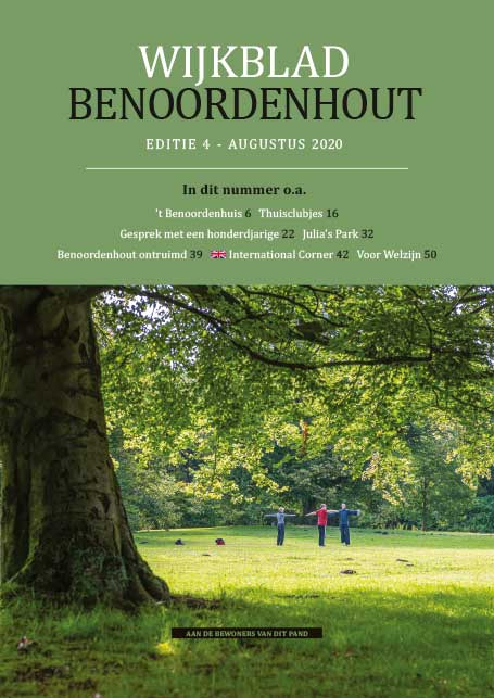 Wijkblad Benoordenhout 2020 nummer 4