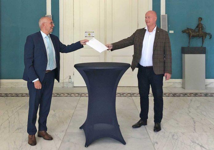 Intentieovereenkomst ANWB-terrein ondertekend