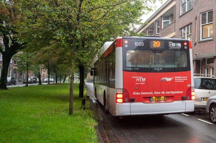 Bus lijn 20 Jozef israelstraat