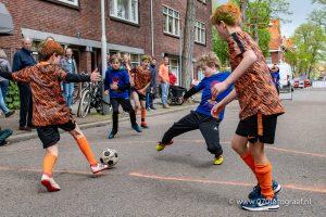 Sport op Koningsdag Benoordenhout