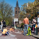 Stoepkrijt – Wijk Benoordenhout, Den Haag – 27-04-2021