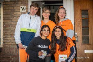"""Fam, Bing en Dex Goudsmit & Louise en Elène Wind, 13 – 16 jaar """"Perspectief Dorp"""""""