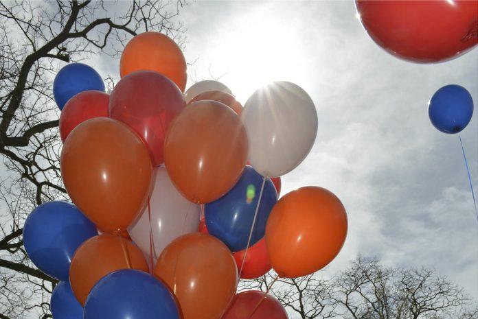 balonnen oranje
