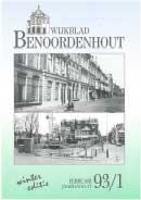 Wijkblad Benoordenhout 1993 nummer 1