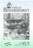 Wijkblad Benoordenhout 1993 nummer 3